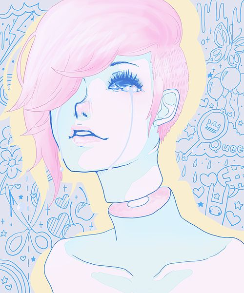 Real Life Looking Anime Girl: 47 Best Images About Guro And Pastel Goth On Pinterest