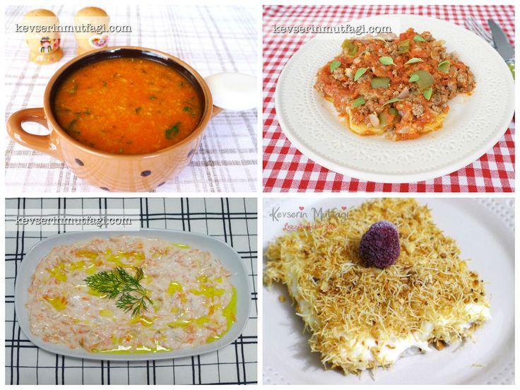 Günün Menüsü 24 Eylül - Kevser'in Mutfağı - Yemek Tarifleri- sebzeli bulgur çorbası!