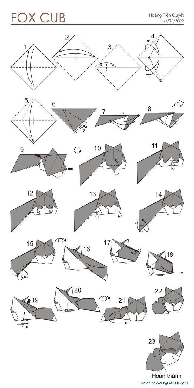 35 best origami animals