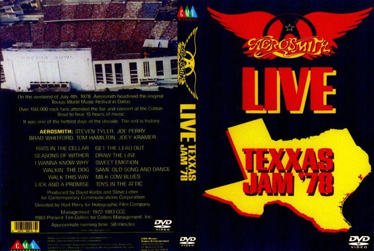 Full Concierto en DVD de Aerosmith Texxas Jam 1978