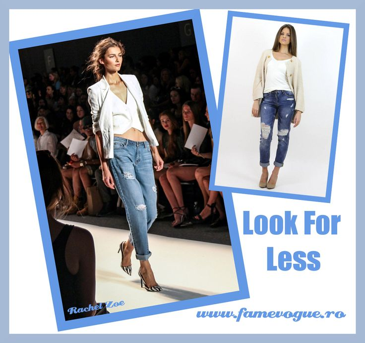 Check out this fashion-forward #boyfriend #jeans design at www.famevogue.ro....:)  #haine #blugi #moda #style #fashion #boyfriend #trends