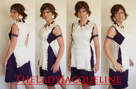 Princess Mononoke Cosplay Costume - add facepaint