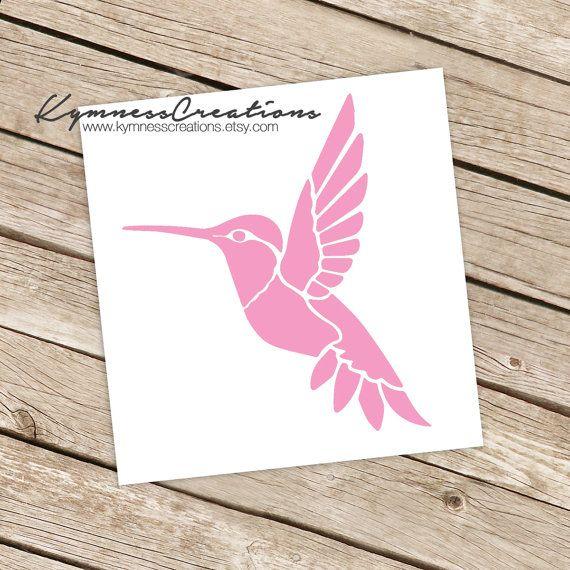 Best Decals Images On Pinterest Car Decals Tattoo Ideas And - Window alert hummingbird decals amazon