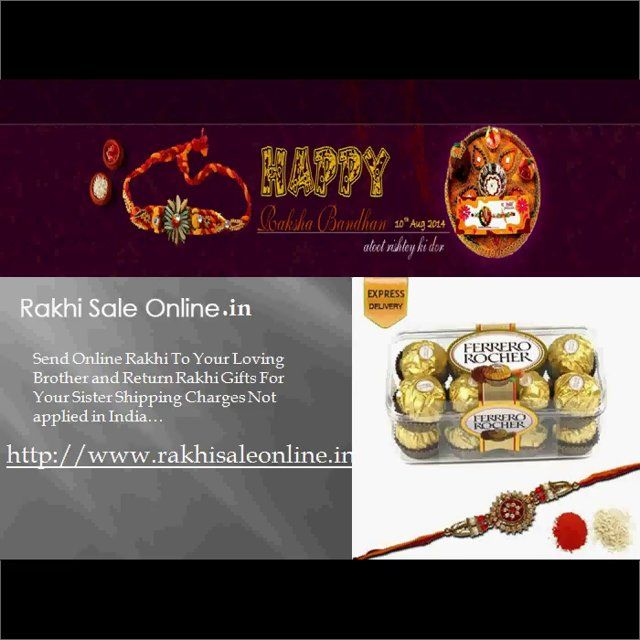 Send #Rakhi #Gifts For Your Brother And Returning #Gifts For Sister. For More Information Visit Here.. @ http://www.rakhisaleonline.in/