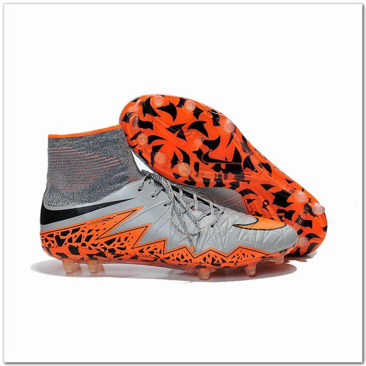 Orange Nike Hypervenom Phantom II FG Cheap Soccer Shoes Dynamic Fit  Collar-Only $110.98