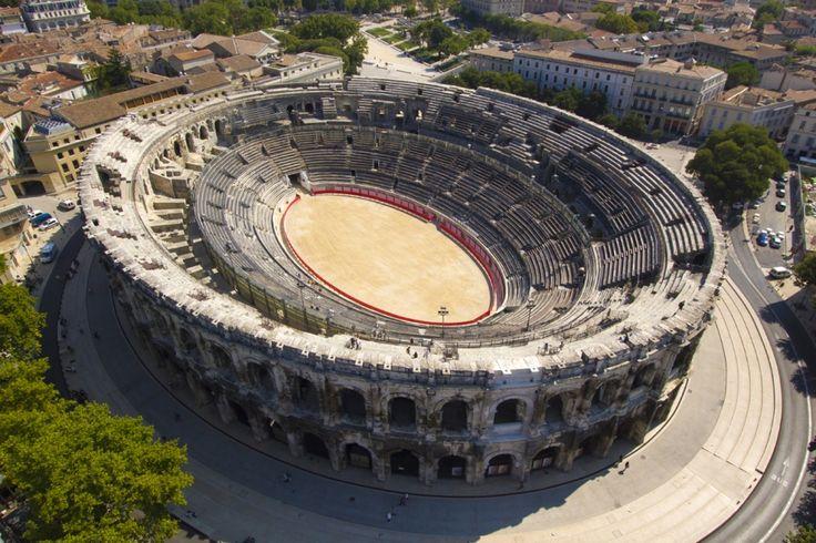 Les Arènes   Arènes de Nîmes, Maison Carrée, Tour Magne - Nîmes - gérées par Culturespaces