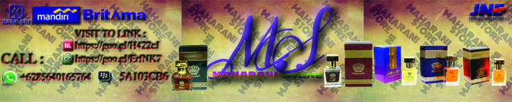 Maharani Store sedia parfum produk2 non alkohol