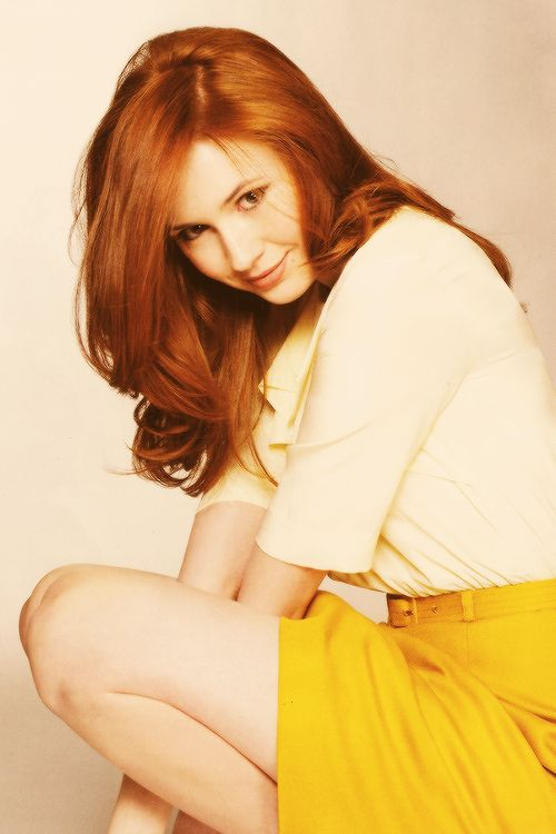 Karen Gillan. She's so cute!