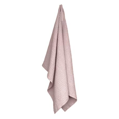 Trouva: The Organic Company Pale Rose Big Waffle Bath Towel and Blanket