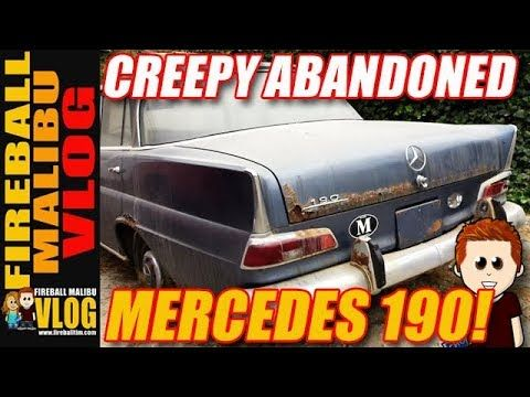 CREEPY ABANDONED 1963 MERCEDES W110 190! - FIREBALL MALIBU VLOG 656 SUBSCRIBE TO FIREBALL MALIBU VLOG @ http://ift.tt/12aPqeo CREEPY ABANDONED 1963 MERCEDES W110 190! - FIREBALL MALIBU VLOG 656 - Fireball and Kathie take a tiny 6-mile stroll into Malibu and spot mega-celebrity mansions cool cars and this creepy abandoned 1963 Mercedes W110 190. Yes abandoned in Malibu. FIREBALL'S BOOKS ON AMAZON! http://ift.tt/2faxJCq THE FIREBALL MALIBU VLOG STORE! New HATS & MUGS that support a Malibu..