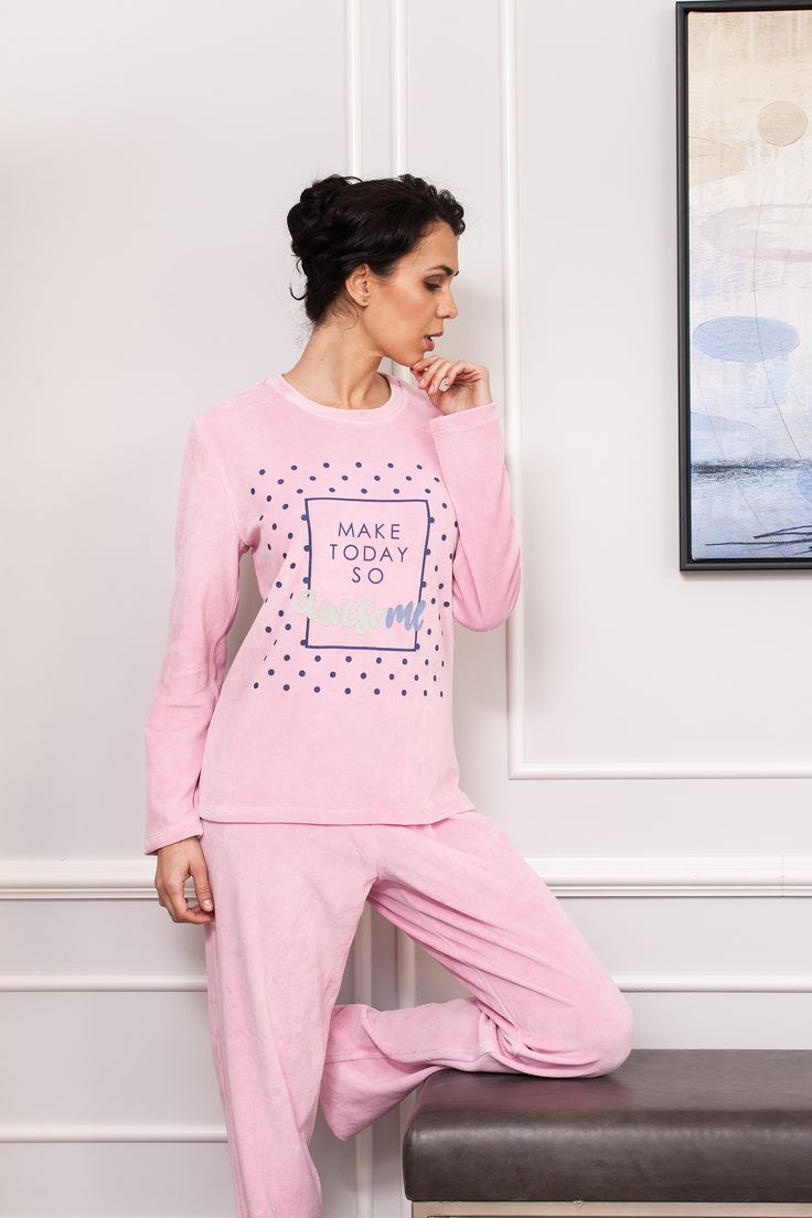 #velvet #dusty pink #positivequotes pijama. #fallwinter2017