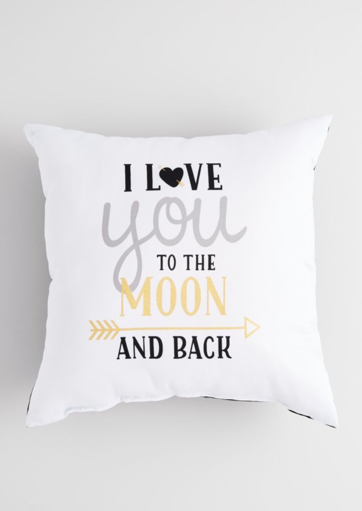 Metallic To the Moon Pillow | Pillows | rue21