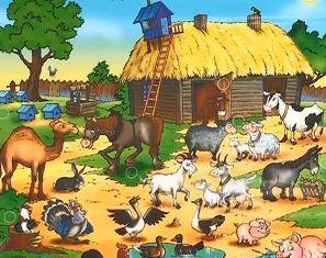 Воскресная школа - Уроки для детей до трех лет - Животные
