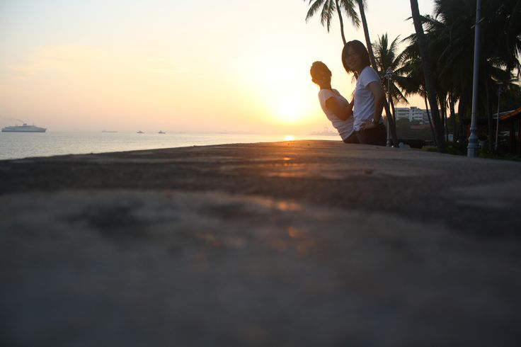 Happy birthday!Sunrise at Penang,2012/9/4