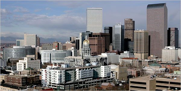 1858 – Denver, Colorado, is founded. | Denver - Colorado Tourist Attractions ~ Tourist Destinations