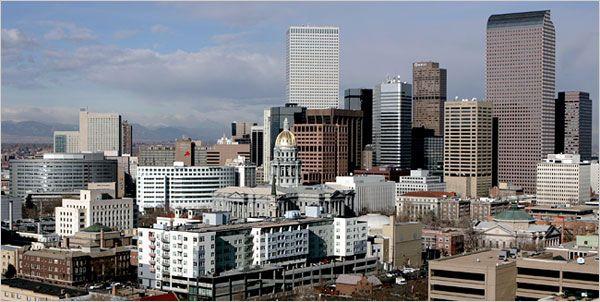 1858 – Denver, Colorado, is founded. | Denver - Colorado Tourist Attractions ~ Tourist Destinations