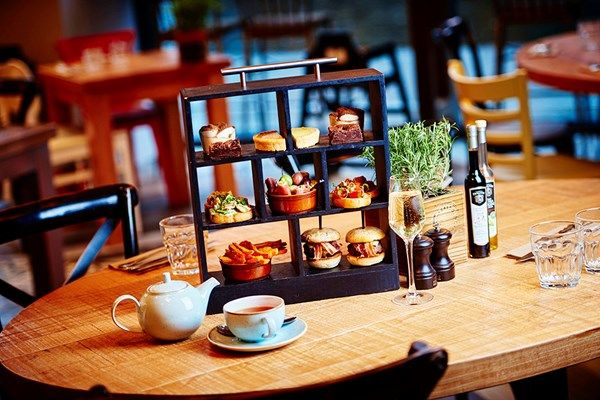 Enjoy an Italian afternoon tea with added sparkle at Marco Pierre White's Bardolino in Birmingham