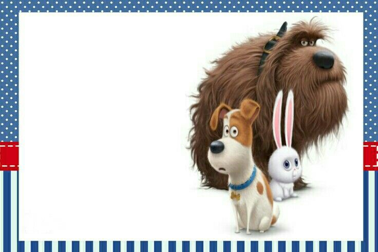 Printables the secret life of pets movie. Mascotas pelicula.                                                                                                                                                     More