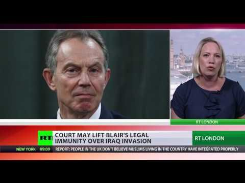Tony Blair should be prosecuted for Iraq War high court hears