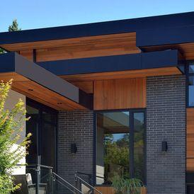 contemporary exterior by Upside  Development