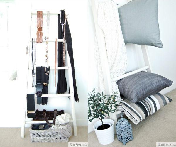 STIJLVOL STYLING - WOONBLOG Interieur, woonideeën, buitenleven, zelf maak ideeën, feest styling tips: Interieur   Trend   De houten ladder