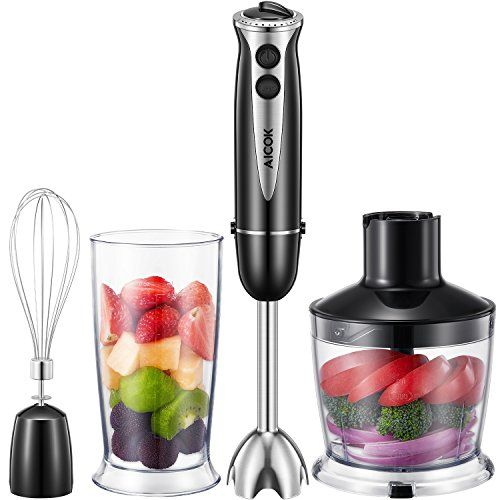 Cheap Immersion Blender, Aicok 4 in 1