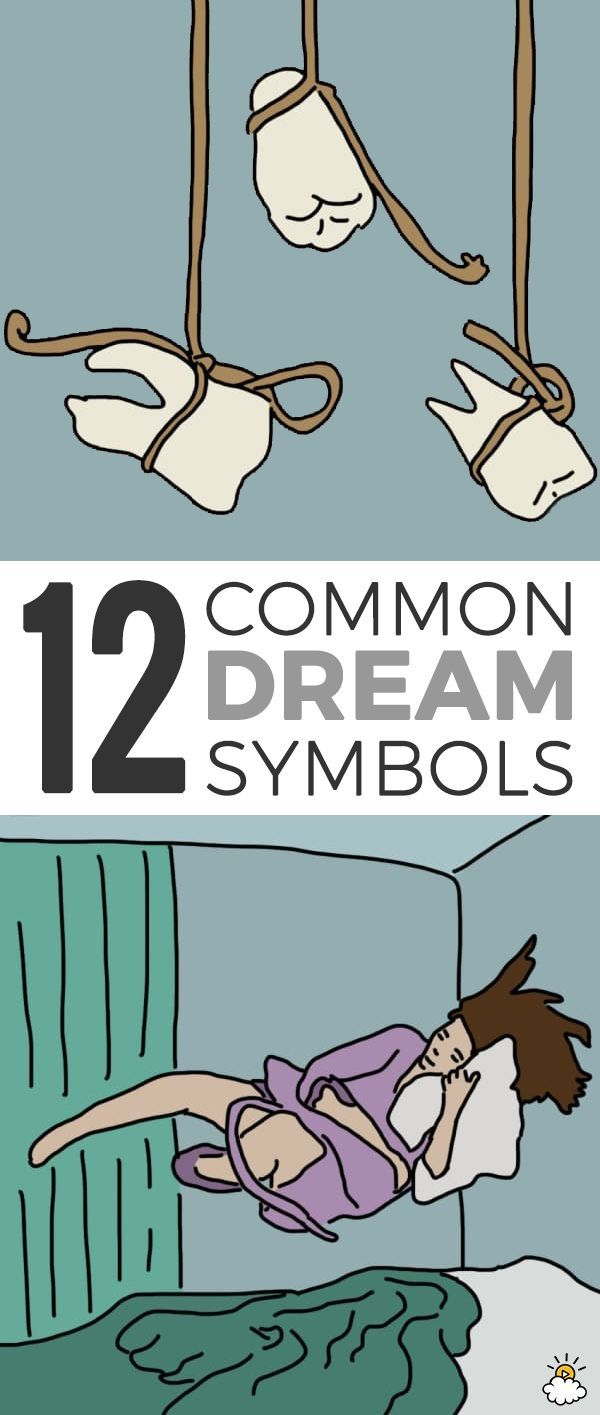 When I saw this list of important dream symbols, I was blown away.