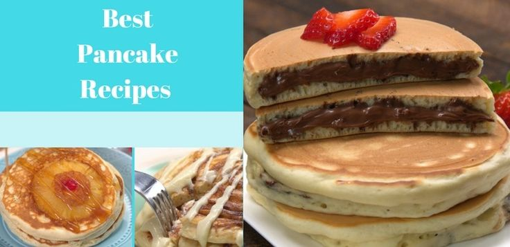 It doesn't have to be national pancake day to stuff your face with pancakes. TipHero chefs narrowed their fave pancake recipes down to these four!
