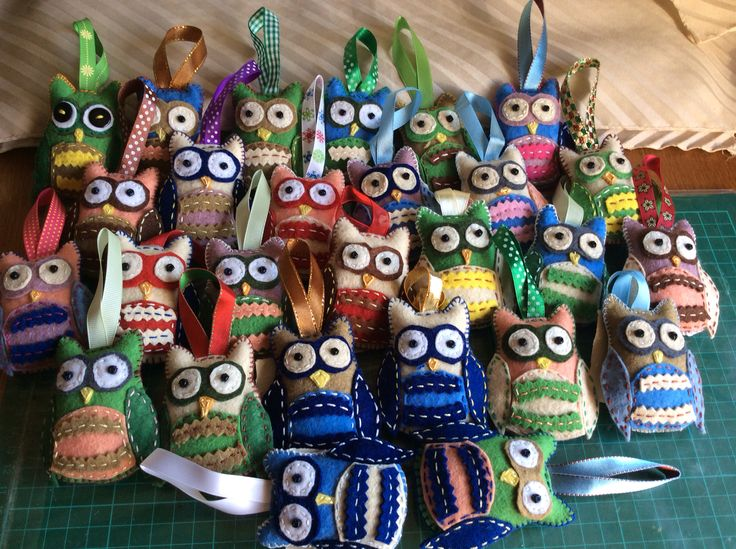 27 owls - a farewell gift for my eight-term-class.