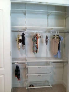 A Big Closet For A Nursery! Great That Thereu0027s Hanging Where The Child Can  Eventually