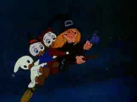 Donald Duck - Trick Or Treat - 1952.  I watched the heck out of the Halloween VHS my mom made for us.  It had It's The Great Pumpkin Charlie Brown, Garfield's Halloween, and Disney Halloween cartoons.  It makes me wish I still had a tape player.