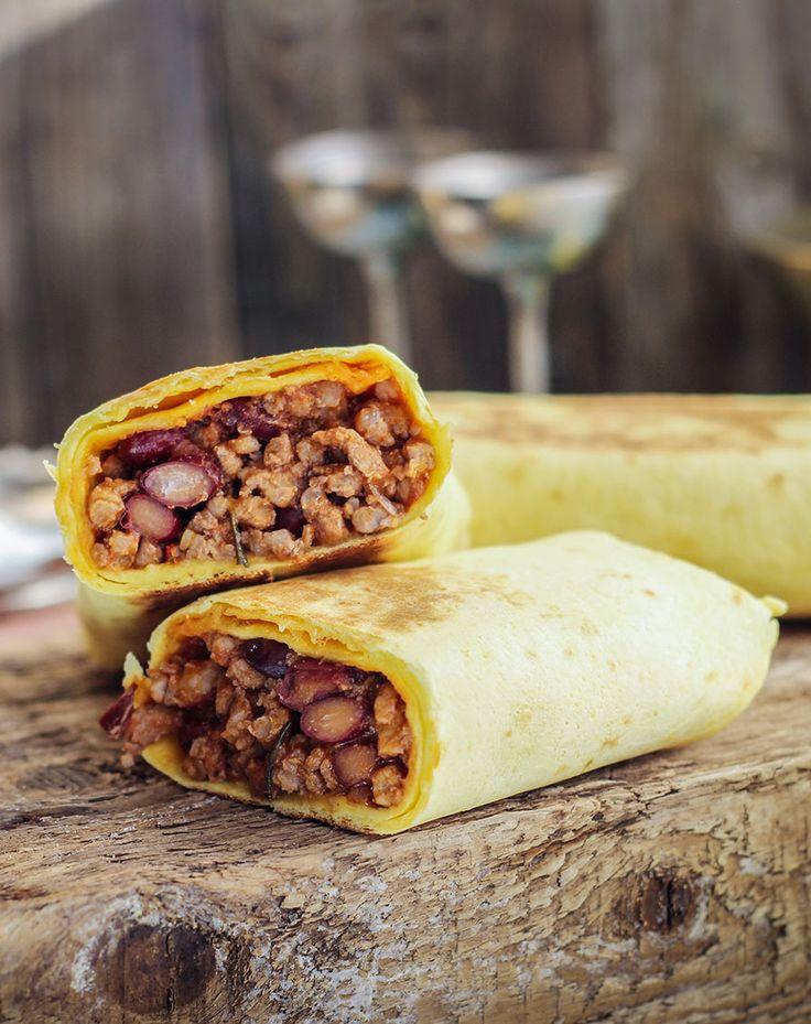 Рецепт сочного, сытного, по-настоящему мексиканского буррито!