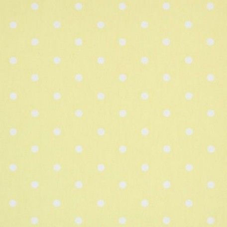 Polka Dot Yellow Oilcloth Tablecloth | Wipe Easy Tablecloths