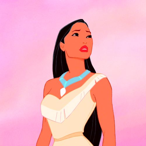 Pocahontas (before the wind blows through her hair)