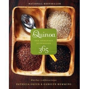 I'm in love. I must admit I never knew what to do with Quinoa until now.  About a year and a half ago I bought bag at Costco for around $10....