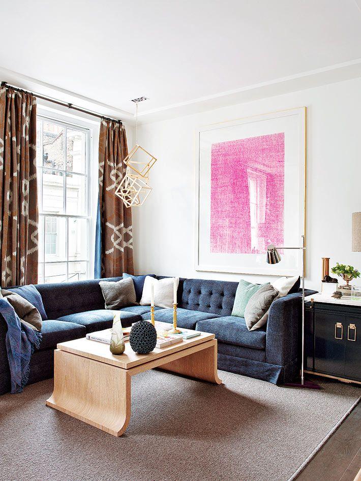 Красивый интерьер квартиры в Лондоне фото 03