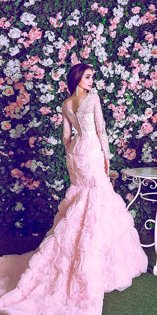 Asombroso Vestido De Novia De Encaje Casablanca Composición ...