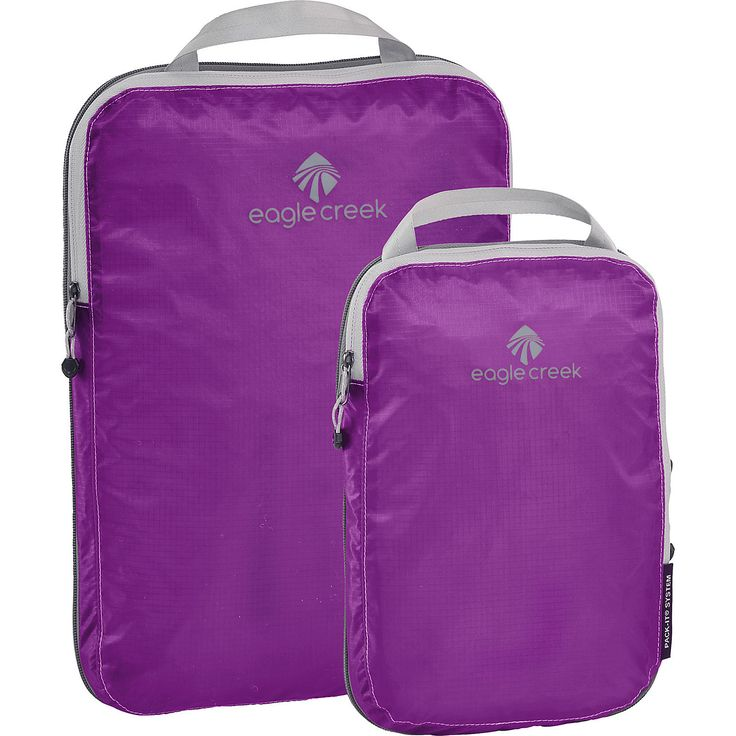 Buy the Eagle Creek Pack-It Specter Compression Cube Set at eBags - Compress clothing and increase space inside your travel bag with this compression cube set from Eagl