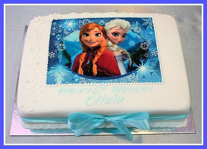 Frozen Cake Nd Birthday