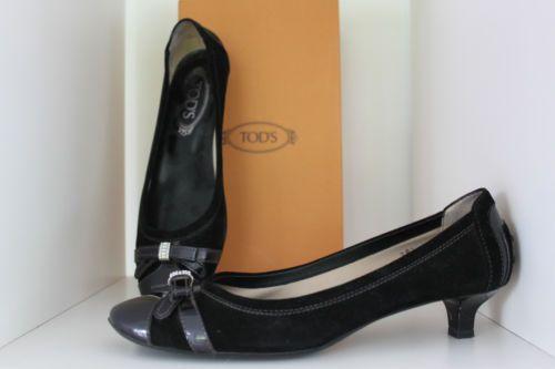 TODS-mooie-zwarte-schoen-met-klein-hakje-chaussures-petit-talon-taille-38-5