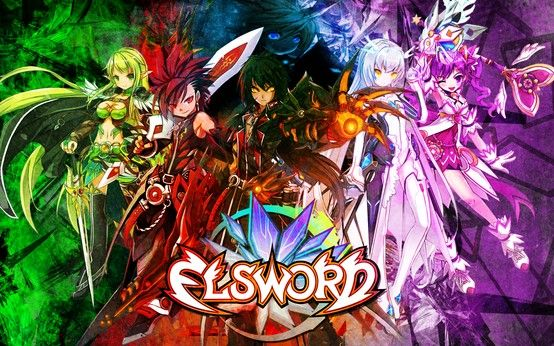 Elsword!  My second all time favorite game.  It's a MMORPG (Aka Massively Multiplayer Online Role-Playing Game)  This game originally comes from the Manga series Eltype.