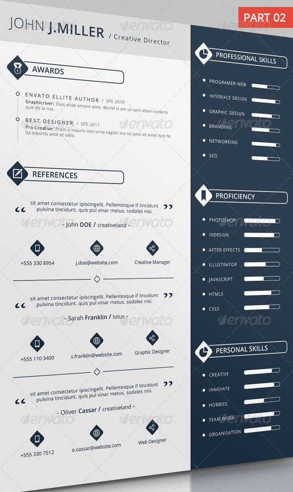 18 best cool resumes images on pinterest
