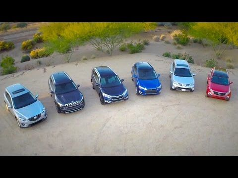 2015 Compact SUV Comparison Test Video by the Kelley Blue Book Editorial Team