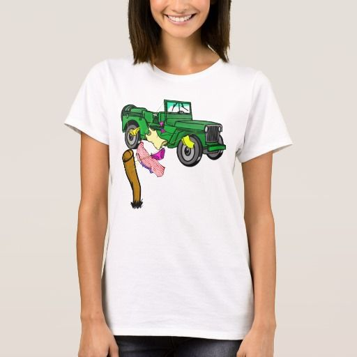 military off road, 4wd t-shirt for her