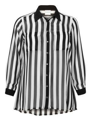 Striped shirt from JUNAROSE  #print #stripes #shirt @JUNAROSE