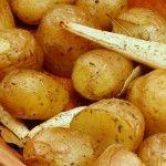Kartofler i stegeso / römertopf