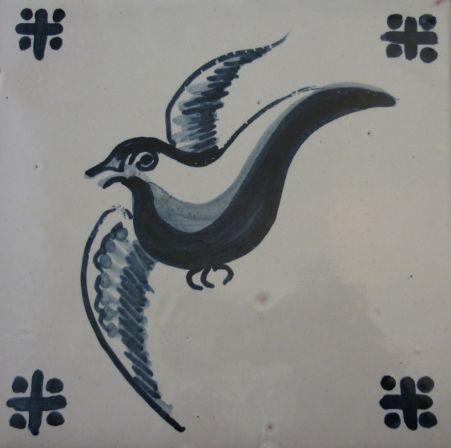Handpainted Portuguese Tiles by Roger Metcalfe. 15x15cm www.estudio-destra.com