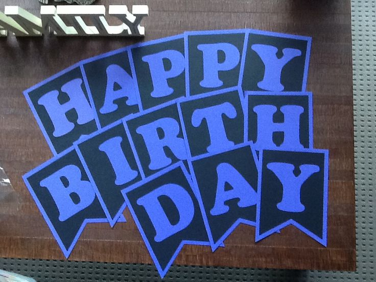 Happy Birthday Pennant
