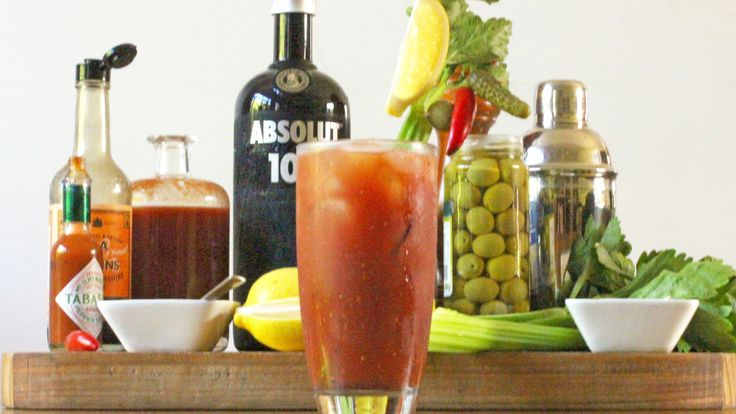 BLOODY MARY: Champaign breakfast not your style? fear not! for here is a socially acceptable morning beverage that combines food and fun (pronounced alcohol). mixed with Vodka, tomato, lemon, tobasco, Worcester and pepper. Recipe on the blog