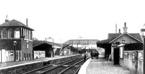 Old photograph of Giffnock, Renfrewshire, Scotland